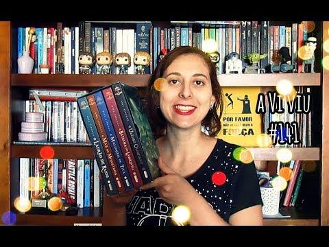 aViviu #141 - Percy Jackson e os Olimpianos (os 5 livros)