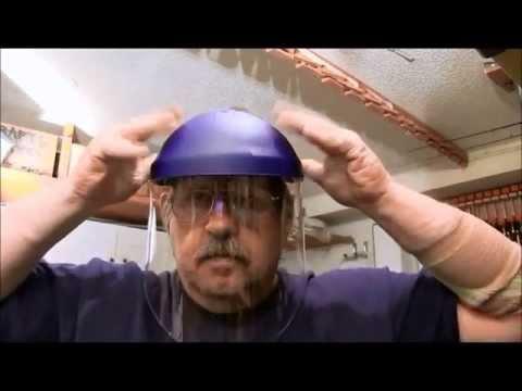 3M Tekk Face Shield Review: NewWoodworker