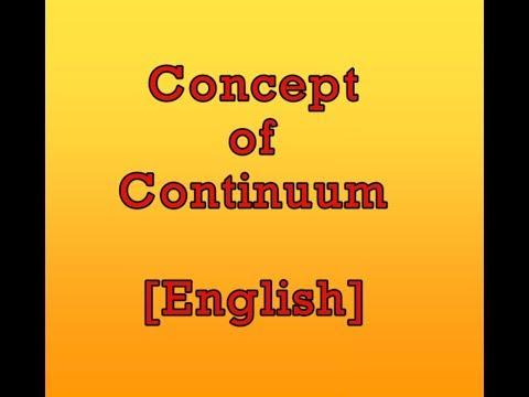 Concept of Continuum in Thermodynamics