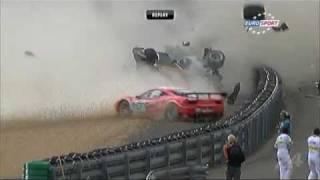 Le Mans énorme Crash Audi N°3