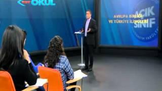 aöf anadolu üniversitesi avrupa birliği ve türkiye ilişkileri 1.ders