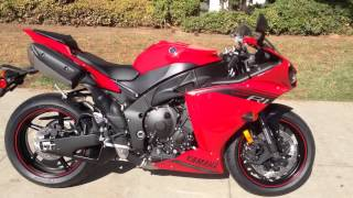 5. 2014 Yamaha YZF-R1 Rapid Red