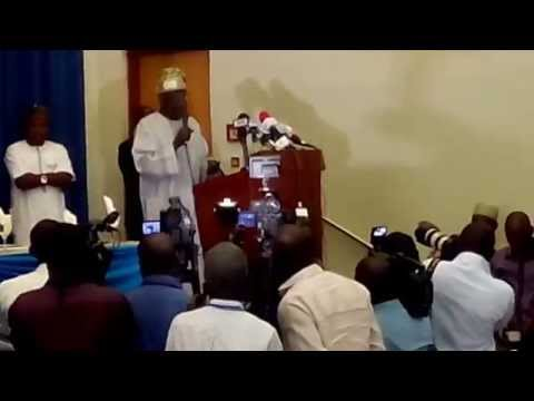 Video :PDP As A Party Is A Very Stubborn Goat -Tinubu