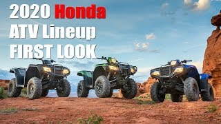 9. 2020 Honda ATV Lineup First Look, Updates for Rancher and Foreman Models