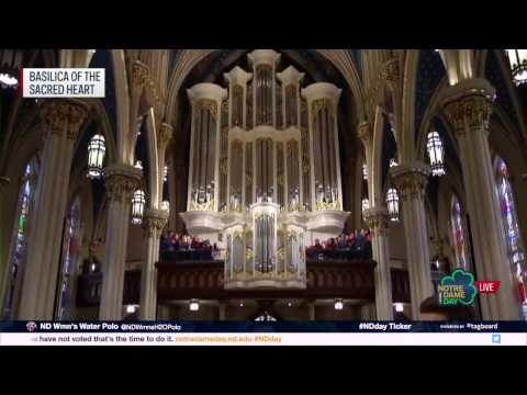 Murdy Family Organ Performance - 2017 Notre Dame Day