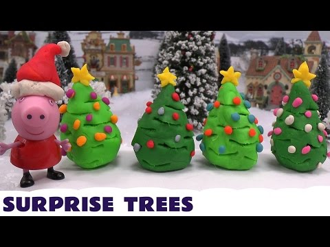 Thomas - Thomas and Friends Thomas collects Surprise Play Doh Christmas Trees from Disney characters located around the village. Characters include Disney Fairies, Frozen, Rapunzel, Princess Sofia,...