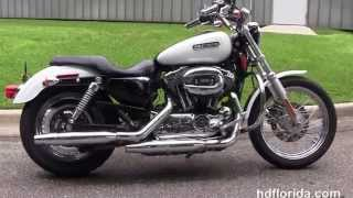 9. Used 2007 Harley Davidson Sportster 1200 Custom Motorcycles for sale