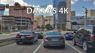 Dallas (TX) United States  City pictures : Driving Downtown - Dallas Texas USA
