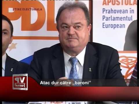 """Atac dur către """"baroni"""""""