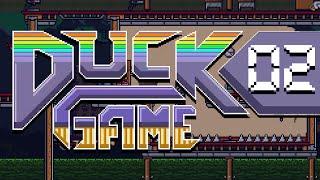 DUCK GAME w/ PokeaimMD, Blunder, Shizzy & steve! QUACK by PokeaimMD