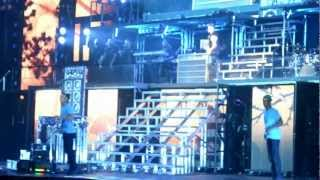Justin Bieber Crying While Singing To Avalanna #BELIEVEtour 9/29/12 Arizona