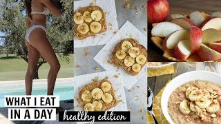 WHAT I EAT IN A DAY (healthy & quick -  perfect for picky eaters) l Olivia Jade