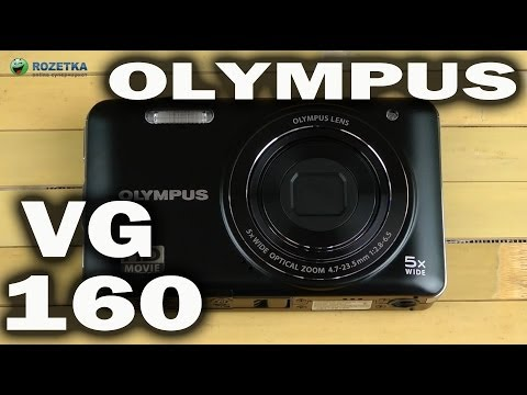 Распаковка Olympus VG-160 Black