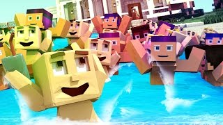 Minecraft | Who's Your Daddy? POOL PARTY GETS OUT OF CONTROL! (Baby House Party)