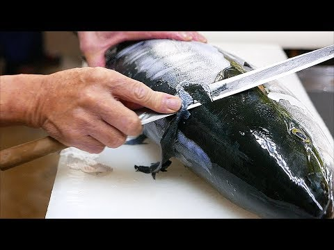 Thực phẩm Nhật Bản - Loin Cá đuôi Vàng sashimi cá om Nhật Bản đồ ăn biển - Thời lượng: 29:46.