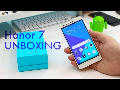 Huawei Honor 7 unboxing and first impressions