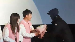 Video 160301 EXO SEHUN SURPRISED D.O at The ''pure love stage greetings'' MP3, 3GP, MP4, WEBM, AVI, FLV April 2018