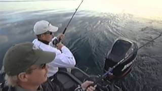 Salmon fishing with Dan Larson
