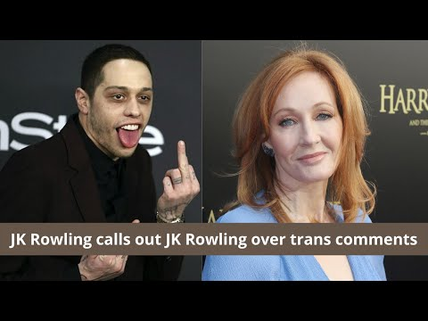 JK Rowling Tweets | Pete Davidson hilariously calls out JK Rowling over trans comments