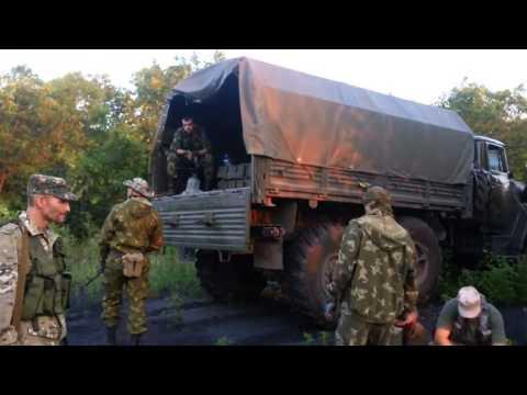 Артиллерия сепаратистов Донбасса привал, отдых   Донецк Луганск АТО ДНР ЛНР