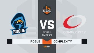Rogue vs compLexity, map 3 inferno, ECS Season 7 North America