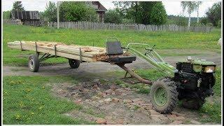 Прицеп для длинномерных грузов и не только...