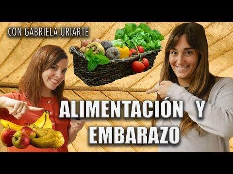 ALIMENTACIÓN en el EMBARAZO con Gabriela Uriarte