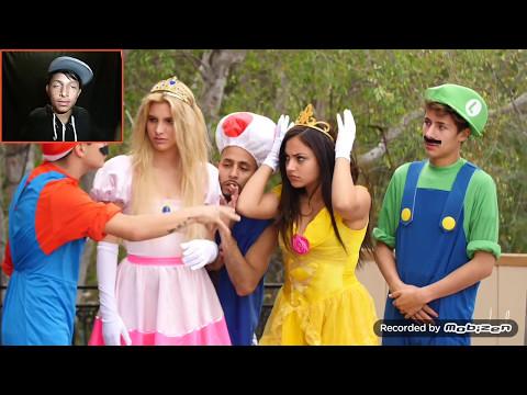 Super Mario Skit Lele Pons / I SEE YOU LUIGI LOL