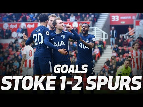Video: GOALS | STOKE CITY 1-2 SPURS