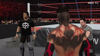 wwe-2k16-balor-vs-rollins-summerslam-hype-promo