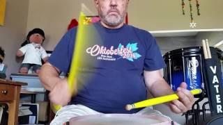 Kevin Donka, Donka Drums - 4/3 WTF (Walk The Flam)