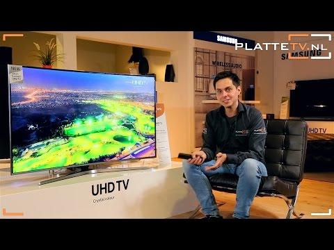 Видео Телевизор LED Samsung UE55KU6670