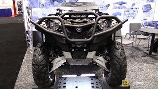 8. 2016 Yamaha Grizzly with Rival Accessories - Walkaround-  2016 AIMExpo Orlando