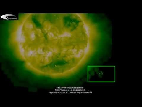 Various anomalies and unidentified objects (UFOs) near the Sun – March 25, 2013