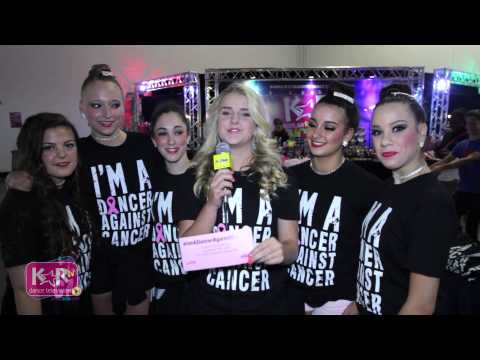 """I'm A Dancer Against Cancer"" Selfie"