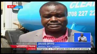 KTN Prime: NHC Residents Seek For Water The Hard Way, September 24th 2016