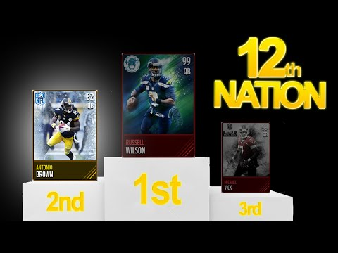 Antonio Brown... Second Best QB in Madden Mobile!