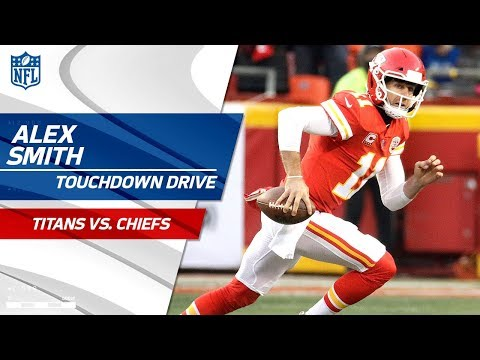 Video: Alex Smith Torches Tennessee's Defense for TD Before the Half! | Titans vs. Chiefs | NFL Wild Card