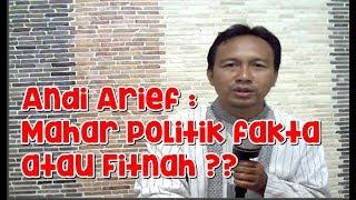 Video Andi Arief, Mahar Politik Fakta atau Fitnah !! MP3, 3GP, MP4, WEBM, AVI, FLV Agustus 2018