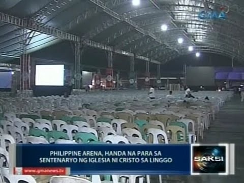 philippine arena - Saksi is GMA Network's late-night newscast hosted by Arnold Clavio and Vicky Morales. It airs Mondays to Fridays at 11:30 PM (PHL Time) on GMA-7. For more videos from Saksi, visit http://www.gmanet...