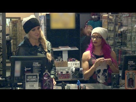 Swerved season 2 outtake: Charlotte and Sasha Banks can't find 'Larry' in Hot Topic
