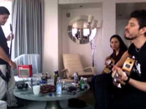 Rod y Gab y Rob Trujillo NYC 2010