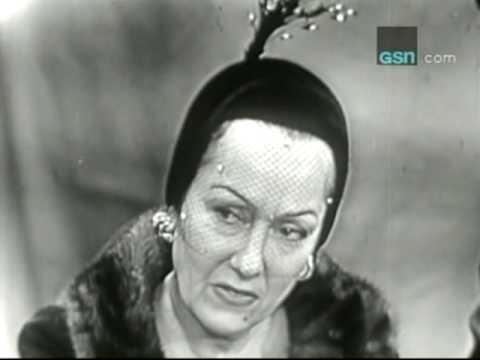 "Gloria Swanson on ""What's My Line?"""