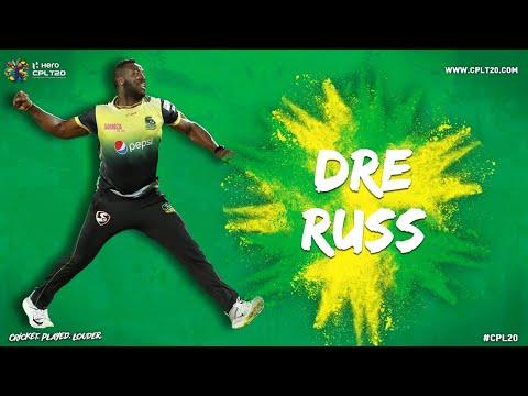 ANDRE RUSSELL JAMAICA TALLAWAHS | #CPL20 #AndreRussell #JamaicaTallawahs #JTInFocus