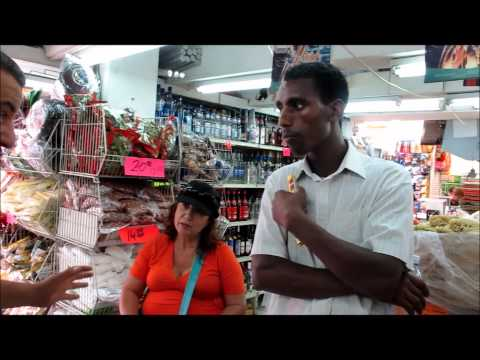 Israeli citizen talks with Eritrean refugee about the situation
