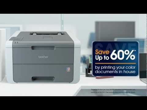 Brother™ Digital Color Printer with Wireless Networking | HL-3140cw