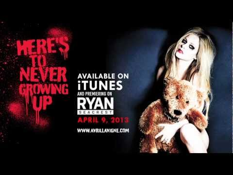 """Avril Lavigne """"Here's To Never Growing Up"""" Lyric Video Sneak Peek (Single on iTunes April 9, 2013)"""
