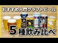 ビール醸造家直伝!おすすめ入門クラフトビール5種飲み比べ【よなよなエール】