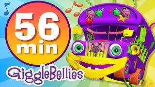 Wheels on the Bus | 20 more Nursery Rhymes | GiggleBellies