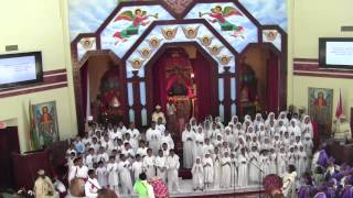 Toronto St. Mary Ethiopian Orthodox Tewahedo Cathedral Consecration - Youth Choir (Nov. 18, 2012)